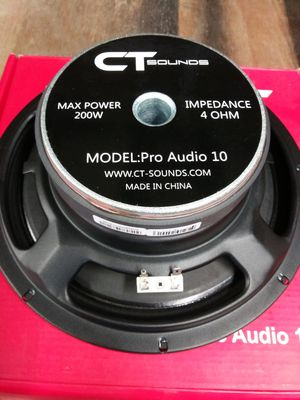 "CT Sounds Pro Audio on hand 10"", 8"", 6.5"" and much more for Sale in Virginia Beach, VA"