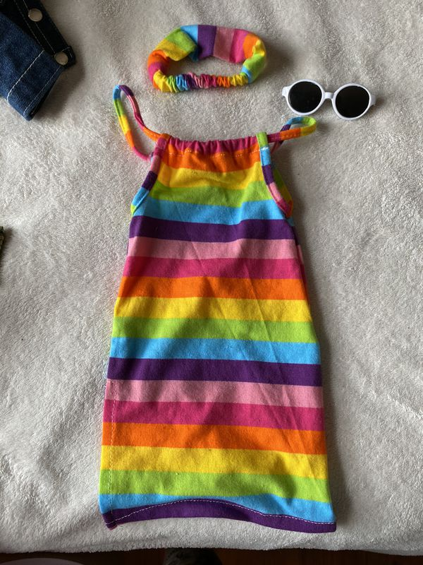 Doll dress set
