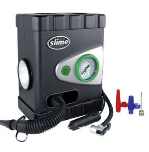 Slime All-Purpose Dual Inflators Tire Raft Pump Bomba Dual Inflador Camas Inflables Deluxe 40038 for Sale in Virginia Gardens, FL