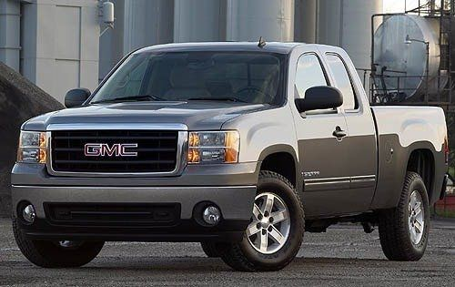 GMC Chevy extended cab camper