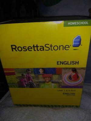 RosettaStone English Homeschool for Sale in Castro Valley, CA