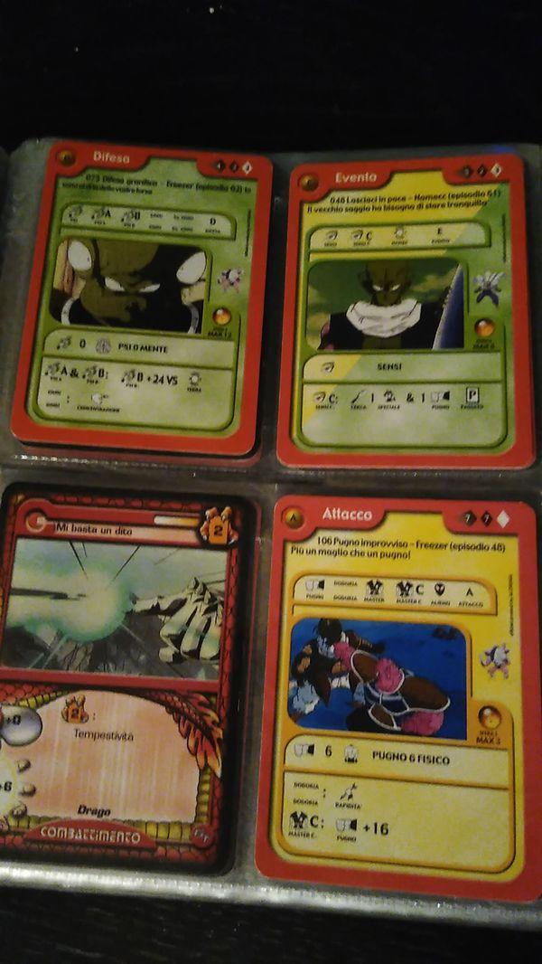 Dragon Ball Z cards