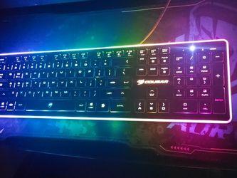 Cougar Vantar Gaming Keyboard for Sale in Bellflower,  CA
