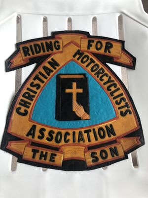 2 large 8*\10* CMA patches ....Christian Motorcyclists Association Patches for Sale in Aurora, IL