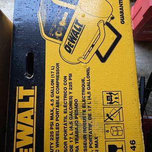DeWalt 225 Max PSI At 90 PSI Electric Air Compressor for Sale in Laurel, MD
