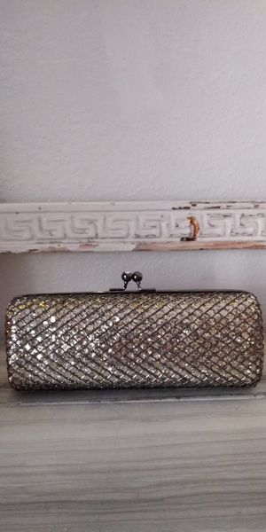 Silver Glitter Clutch for Sale in Salt Lake City, UT