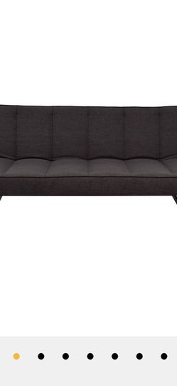Cb2 Flex Microgrid Sleeper Sofa Gravel/Charcoal Grey for Sale in Chicago,  IL