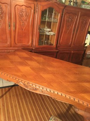 """Vintage Antique French OAK Dining Rm Set/ 9 Pieces/""""Georgeous"""" for Sale in North Palm Beach, FL"""