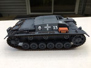 WW2 GERMAN STUG III 1/35 SCALE SELF PROPELLED GUN MODEL for Sale for sale  Cranberry Township, PA