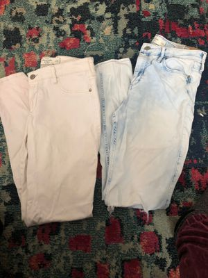 Abercrombie size 8 & 10 jeans for Sale in Brewer, ME