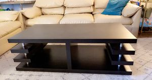 Black coffee table very good condition like new for Sale in South San Francisco, CA