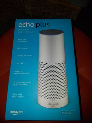 Alexa Echo Plus with Built -in Smart Home Hub..BRAND NEW NEVER OPENED for Sale in Phoenix, AZ