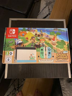 NEW IN BOX Nintendo Switch Animal Crossing Special Edition Console + Game Bundle for Sale in Boynton Beach, FL