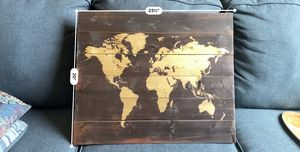Wall Decor- World Map for Sale in Chicago, IL