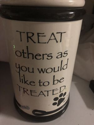 Porcelain Treat jar for Sale in San Diego, CA