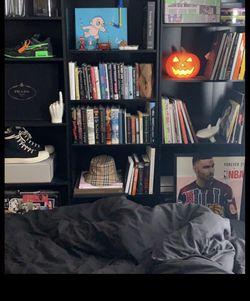 Black Bookshelves (3) for Sale in View Park-Windsor Hills,  CA