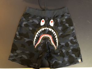 Bape blue camo shark hoodie size L XL 2XL for Sale in Cambridge, MA