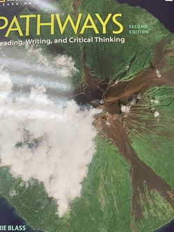 PATHWAYS. Reading, Writing, And Critical Thinking for Sale in Houston,  TX