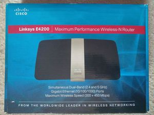 Linksys E4200 Dual-Band Wireless Router for Sale in Sterling, VA
