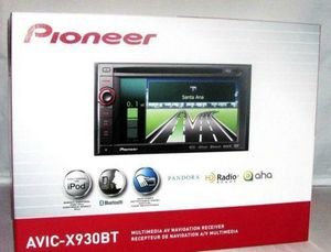 avic-x930bt pioneer double din car audio player for Sale in Tacoma, WA