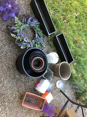 Flower pots and vases for Sale in Fort Worth, TX