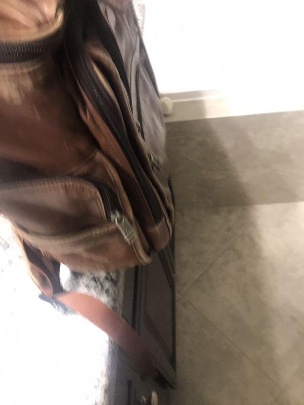 Vintage Leather TUMI Bag