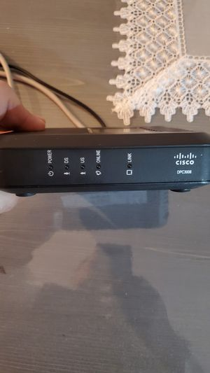 Internet Modem- Cisco DPC3008 (#Comcast #Xfinity) for Sale in Indian Head Park, IL