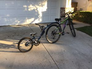 Novara Afterburner Child Bike Trailer (Made In USA). REI brand for Sale in San Diego, CA