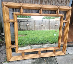 Bamboo wall mirror for Sale in Miami, FL
