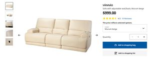 Electrical adjustable sofa reclining cinema leather for Sale in Buffalo, NY