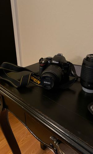 Nikon D5100 with 2 lenses and ND filter set for Sale in Sacramento, CA