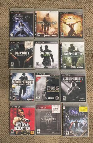 PS3 game bundle - 12 games for Sale in Las Vegas, NV