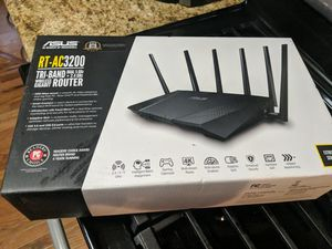 Asus ac3200 tri-band router for Sale in Fair Lawn, NJ