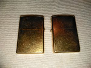 Zippo cigarette lighters, for Sale in Willow Spring, NC