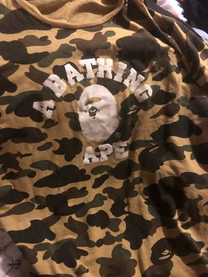 Bape camo college tee for Sale in CT, US
