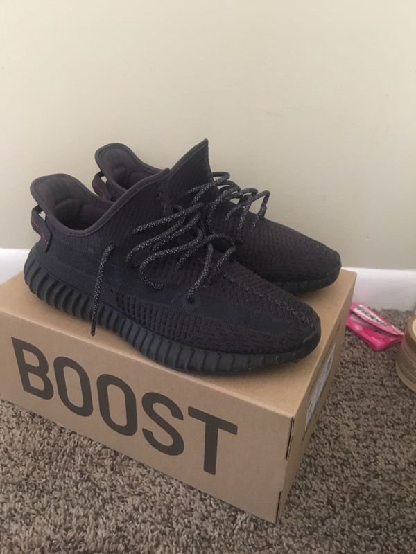 Yeezy Boost 350 BLACK/BLACK