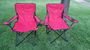 2 New Folding Chairs for Sale in St. Louis, MO