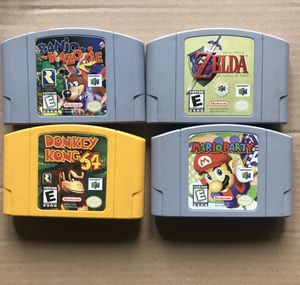 Nintendo 64 Games - Great shape / Authentic for Sale in San Diego, CA