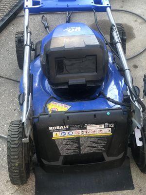 80v 21in kobalt mower for Sale in Baltimore, MD