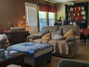 White leather couches for Sale in Roanoke, TX