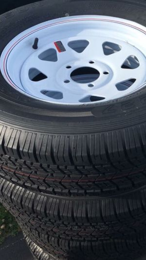Brand new wheels and tires for trailers and campers for Sale in Shippensburg, PA