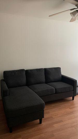 Couch/Sofa-Dark Gray for Sale in San Dimas, CA