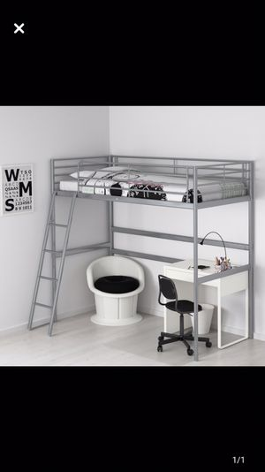 Ikea loft bed TWIN SIZE for Sale in Fort Lauderdale, FL