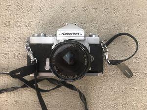 Nikon Nikkormat 50mm film camera for Sale in San Jose, CA