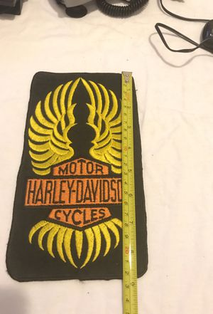 Harley Davidson motorcycle patch for Sale in Chicago, IL