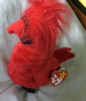 Beanie baby Mac the red bird ty good condition for Sale for sale  South Miami, FL