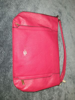 COACH RED LEATHER PURSE for Sale in Largo, FL