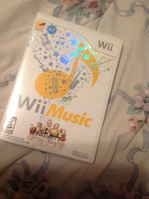 Wii Music for Sale in Bakersfield, CA