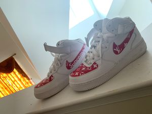 Mike Air Force 1 'Supreme x Louis Vuitton' for Sale in Dover, DE