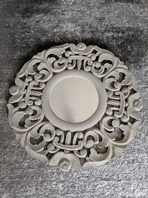 Shabby Chic Antique Wood Carved Accent Mirror Wall Decor for Sale in Alafaya, FL